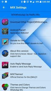 تحميل واتس اب ميكس Whatsapp Mix اخر اصدار للأندرويد