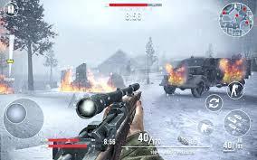 تحميل لعبة Call of Sniper WW2 مهكرة